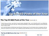 2007 top 50 indlæg om seo